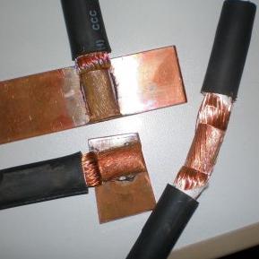 铜缆和铜片